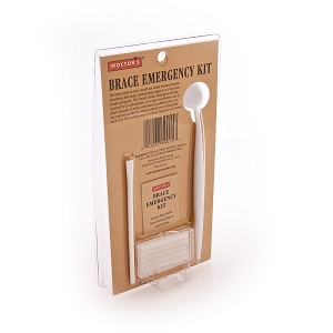 Wired Jaw and Braces Emergency Kit with Mini Wire Cutter