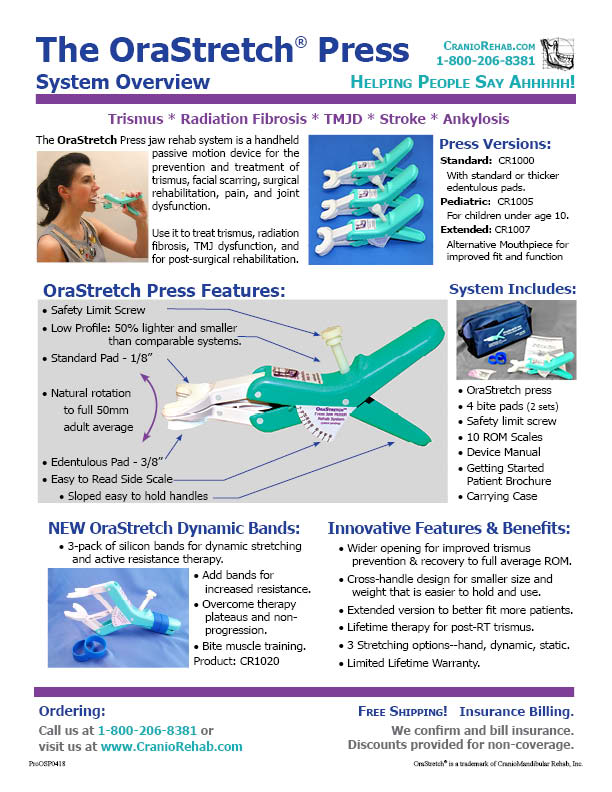 OraStretch Information & Downloads
