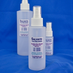 Salvate™ Oral Mist Bottle - Travel Kit - 1 x 4 oz & 2 x 1 oz Misting Bottles