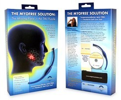 MyoFree TMJ and Headache Self Care Tool and DVD